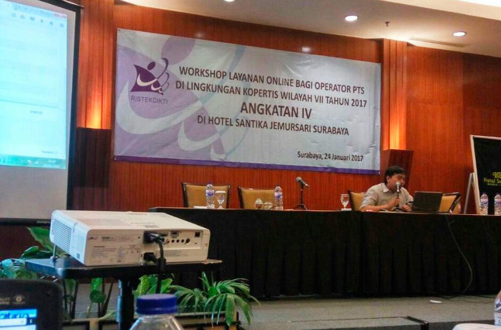 Workshop Layanan Online bagi PTS